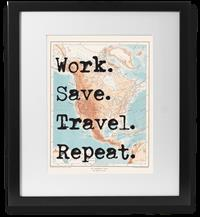 Work/Save/Travel/Repeat